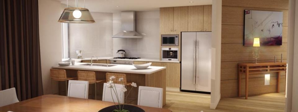 Design interieur de cuisine et salle de bain a montreal for Interieur cuisine design