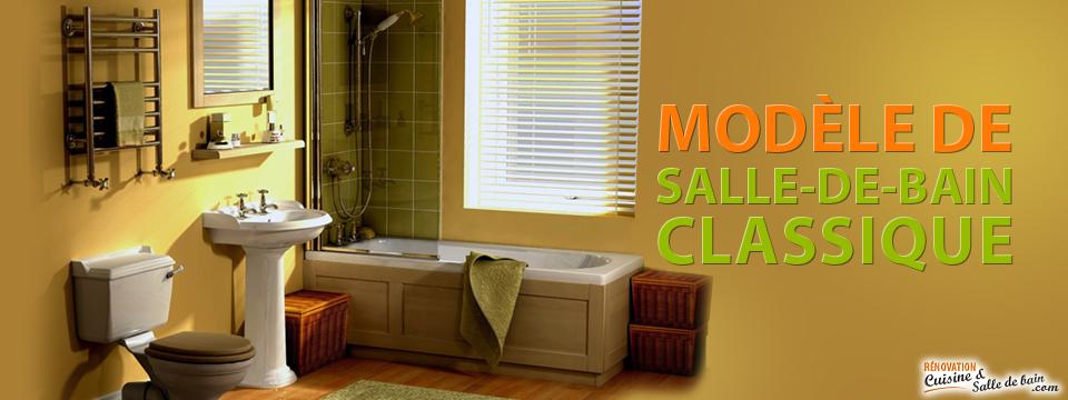 Design et renovation de salle de bain classique a montreal for Renovation salle de bain montreal
