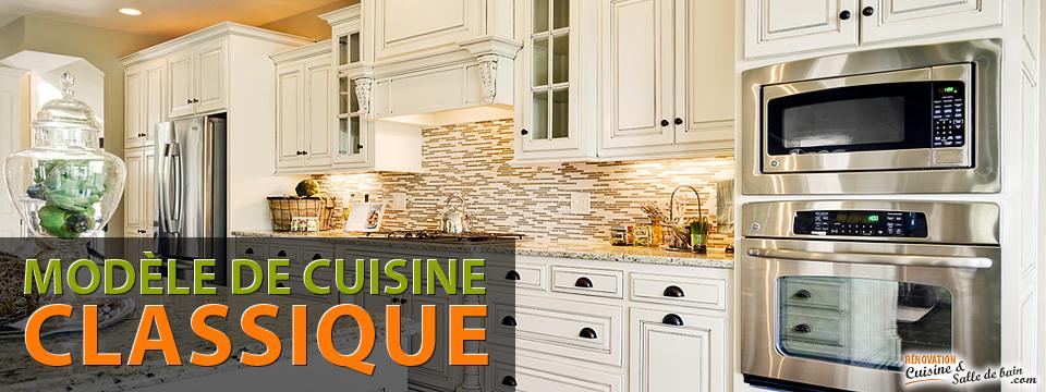 Plan design renovation entrepreneur de cuisine classique a Montreal