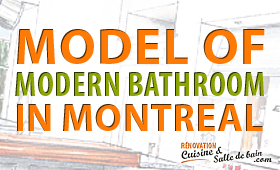Plan Design And Renovation Of Modern Bathroom In Montreal