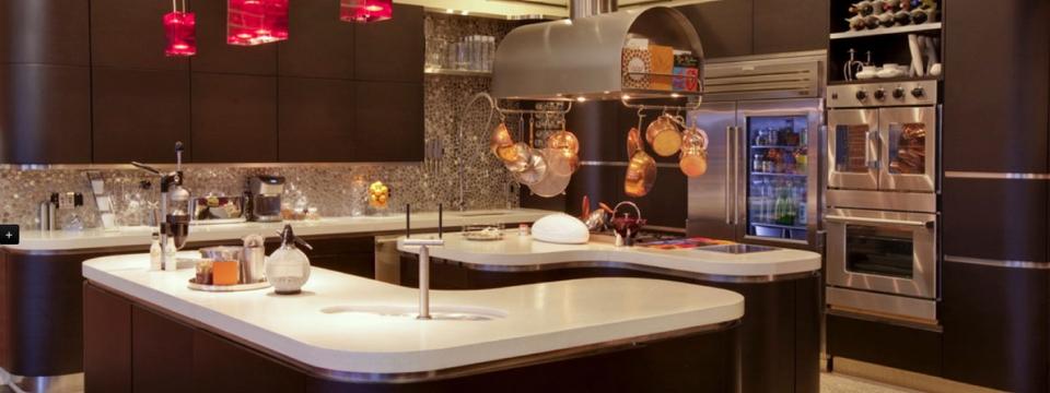 Renovation et design de cuisine moderne et contemporaine a montreal - Belles cuisines contemporaines ...